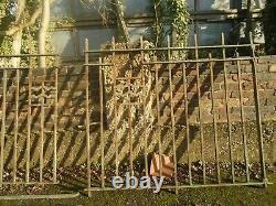 10 Art Nouveau Fence Panels Architectural Antique