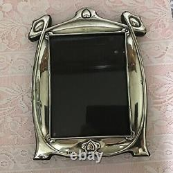 1911 Art Nouveau Charles S Green Solid Silver Lrg 12 Photograph Frame Dedicated