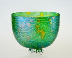 7 Replacement Art Glass Shade Iridescent Hand Blown Glass Art Nouveau Shade