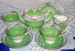 ANTIQUE SHELLEY Tea For TWO Set VERY RARE