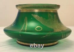 A Matching Carl Goldberg Vase and Bowl for Haida