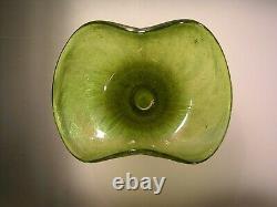 Antique Art Nouveau Bohemian Czech Rindskopf Iridescent Glass Vase