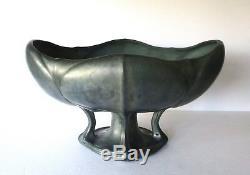 Antique Art Nouveau Stellmacher Teplitz Faience Centerpiece Bowl