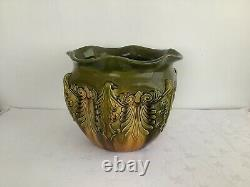 Antique Ault Pottery Jardiniere By Christopher Dresser