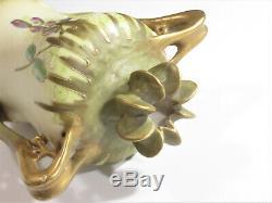 Antique Austria Art Nouveau Porcelain Vase, As Is