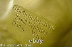 Antique Austrian Art Nouveau Ernst WAHLISS Terracota Plaque Turn Wien c1900s