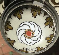 Art Nouveau Mettlach Cider Set Villeroy & Boch
