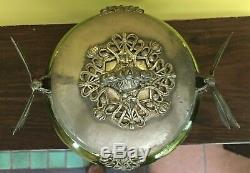 Art Nouveau WMF Dragonfly Buiscut Jar