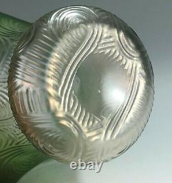 Beautiful Loetz Spiraloptisch aka Fortuna Vase c. 1900 PN II-2791