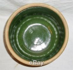 DC Red Wing Brush Ware Jardiniere Planter Paneled Floral Pattern