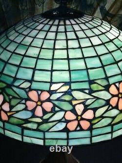 Handel Leaded Glass Lamp Art Nouveau
