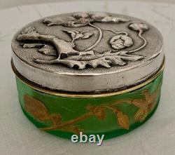LEGRAS VICTOR SAGLIER Art Nouveau Candy Box