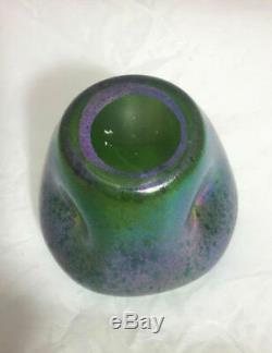 Loetz, Tre-foil Flower Form Vase