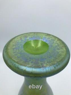 Museum Quality Loetz Creta Papillon Art Nouveau Iridescent Art Glass Vase 12