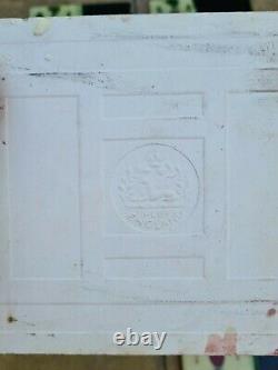 Original Set of 10 Art Nouveau Majolica Fireplace Tiles by T & R Boote