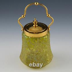 Pallme-Konig Glass Bonbonniere c1910
