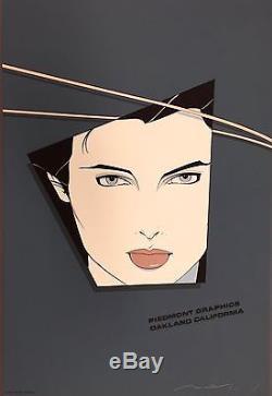 RARE ARTIST PROOF Patrick Nagel Artist Piedmont Graphics 1982 Signed