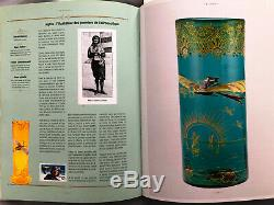RARE and IMPORTANT DOCUMENTED LEGRAS VASE Featuring AVIATOR Harriet Quimby