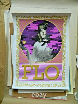 Rare Florence and the Machine Australian Tour Art Poster Signed by the Artist