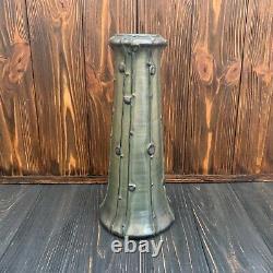 Rare art nouveau Amphora vase Paul Dachsel Turn Teplitz Vienna Riessner ceramic