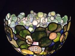 Recreation Of Tiffany Studios 16in Hydrangea Shade