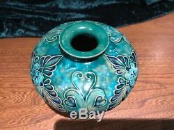 Royal Doulton, Fanny Sayers, Art Nouveau, rare, unusual shape, tubular vase