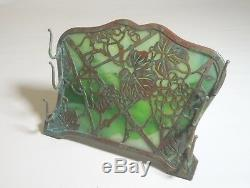 Tiffany Studios Bronze Favrile Grapevine Pen Rack