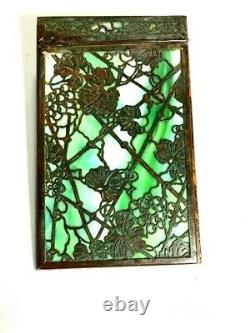 Tiffany Studios Bronze Grapevine Note Pad