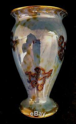 Wedgwood daisy makeig jones fairyland lustre Dragons 10.75 cm Vase