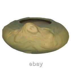 Weller Pottery Art Nouveau Nude Mermaid Bowl