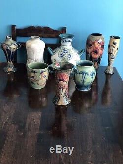 William Moorcroft Hazeldene Vase For Liberty & Co
